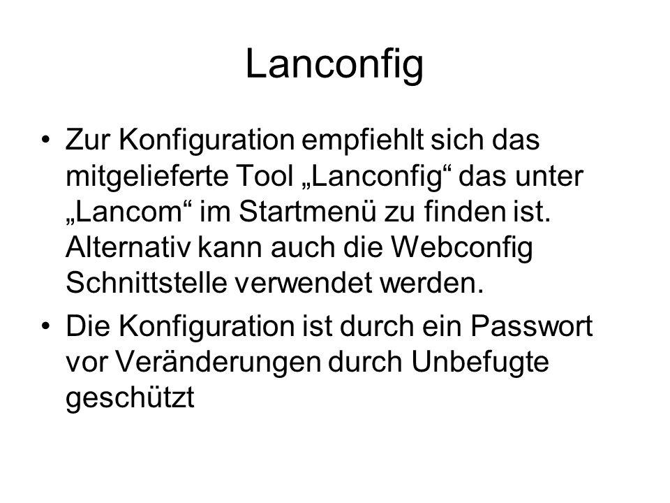 Lanconfig