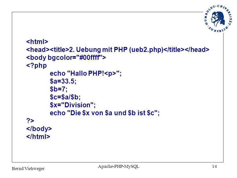 <body bgcolor= #00ffff > < php echo Hallo PHP!<p> ;