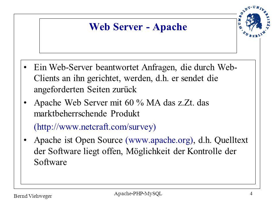 Web Server - Apache