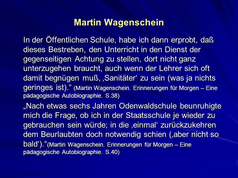 Martin Wagenschein