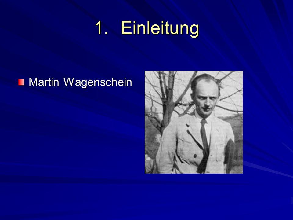 Einleitung Martin Wagenschein