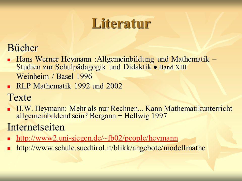 Literatur Bücher Texte Internetseiten