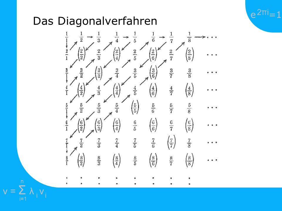 Das Diagonalverfahren