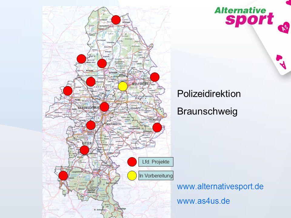 Polizeidirektion Braunschweig www.alternativesport.de www.as4us.de