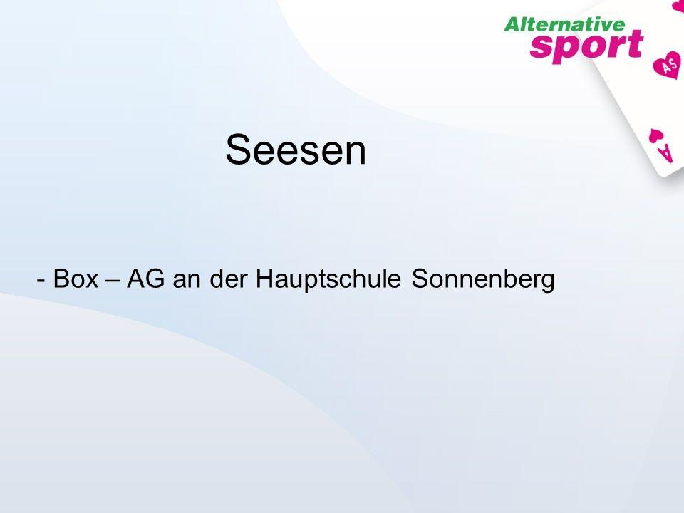 Seesen - Box – AG an der Hauptschule Sonnenberg