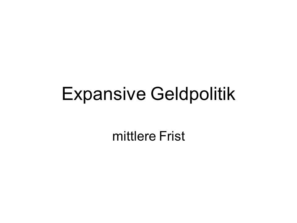 Expansive Geldpolitik