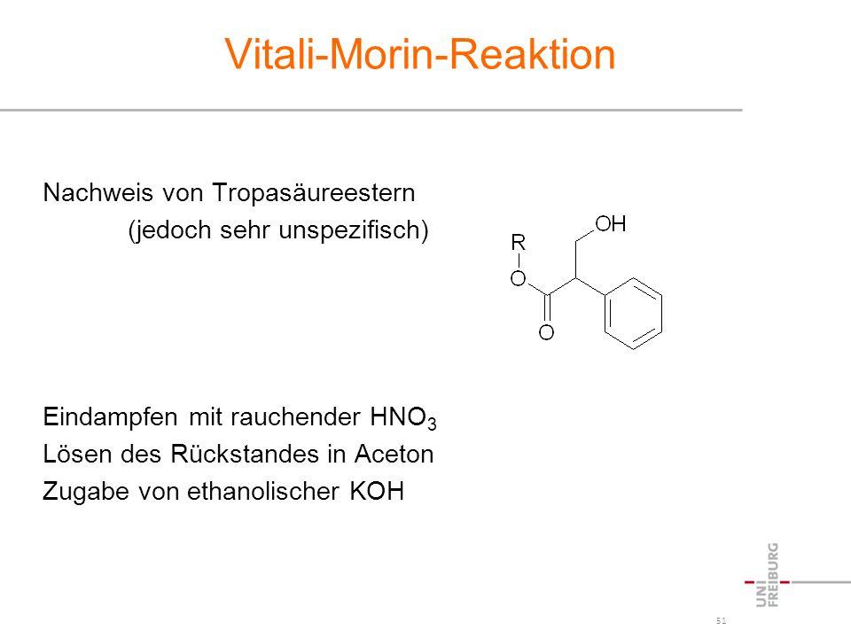 Vitali-Morin-Reaktion