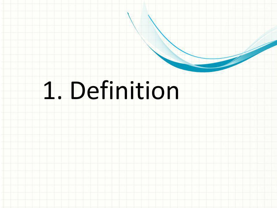1. Definition Dies ist eine weitere Option für Übersichtsfolien mit Übergängen.