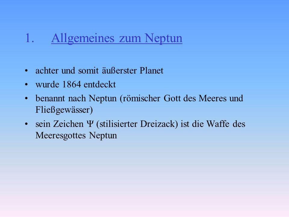 Allgemeines zum Neptun