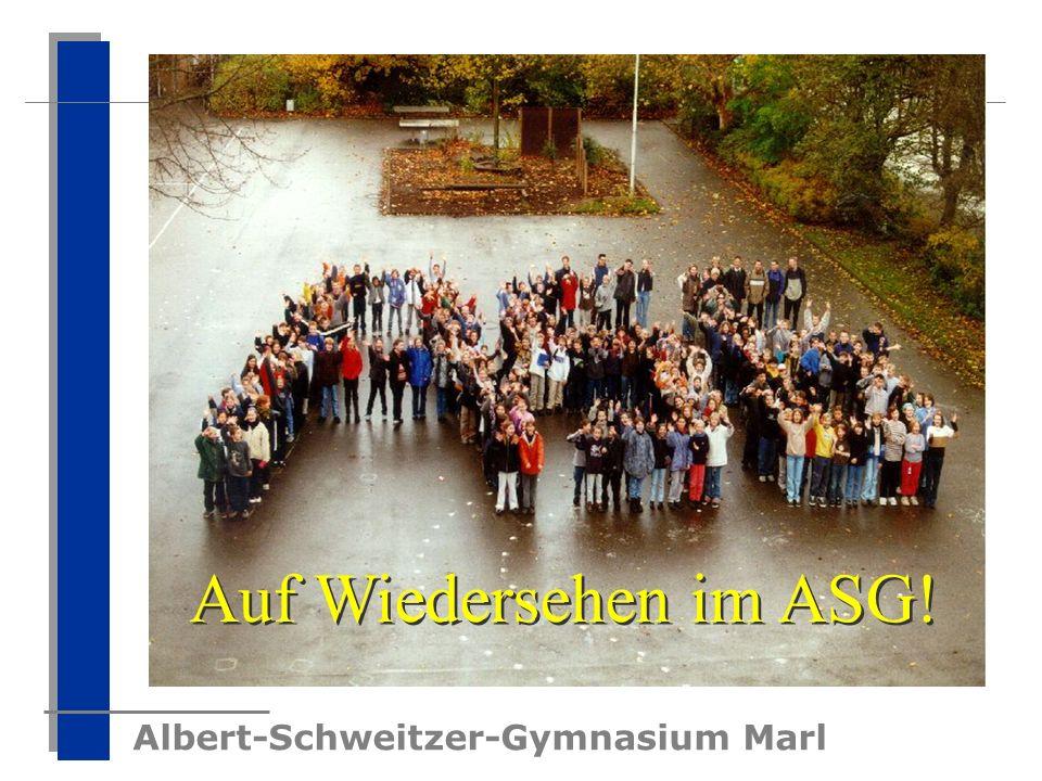 Auf Wiedersehen im ASG!