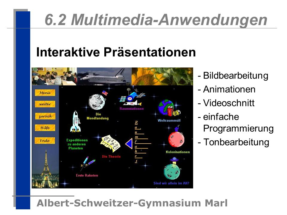 6.2 Multimedia-Anwendungen