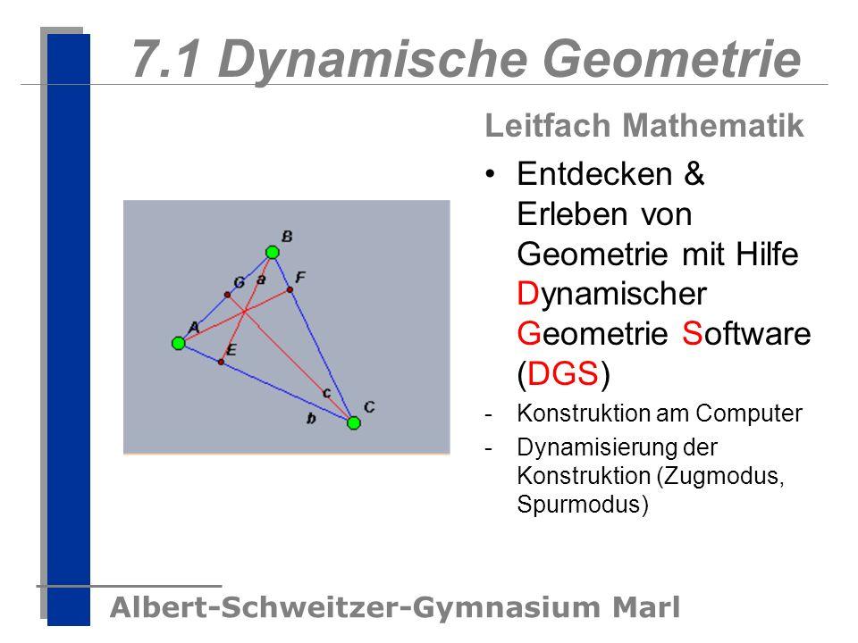 7.1 Dynamische Geometrie Leitfach Mathematik