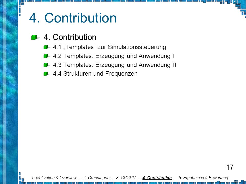 4. Contribution 4. Contribution 17