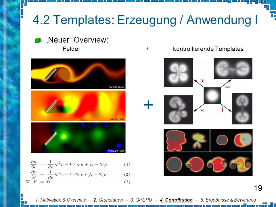 4.2 Templates: Erzeugung / Anwendung I