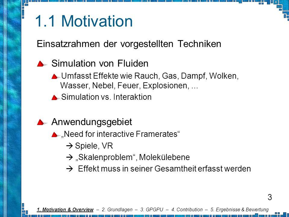 1.1 Motivation Einsatzrahmen der vorgestellten Techniken
