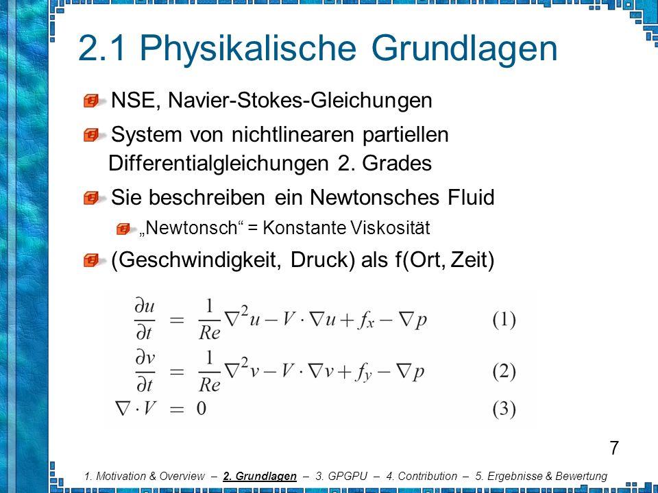 2.1 Physikalische Grundlagen