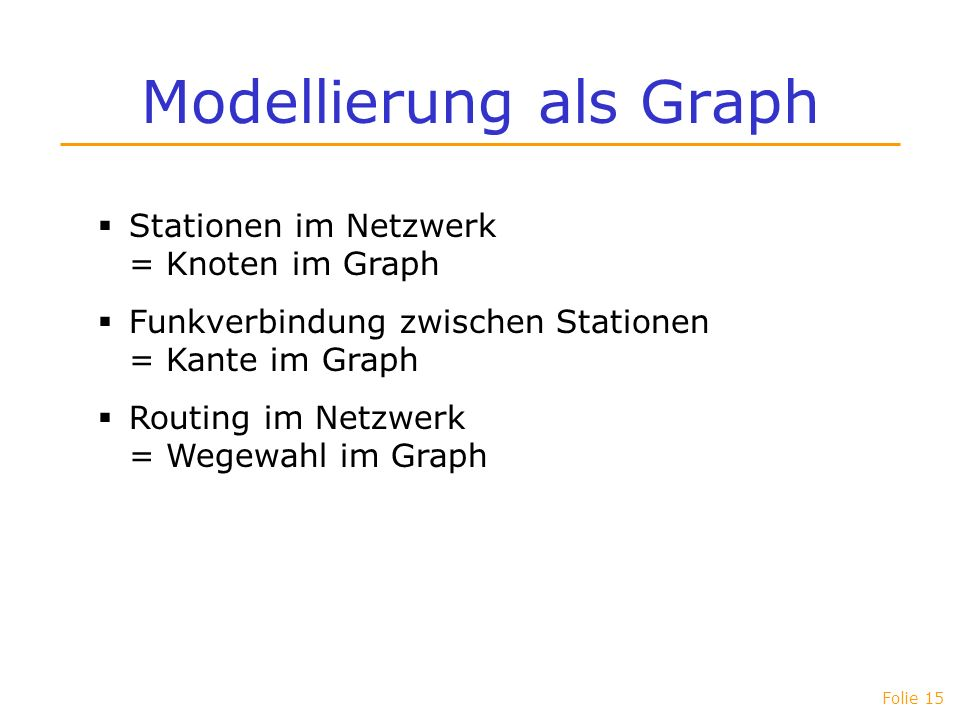 Modellierung als Graph