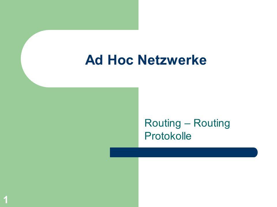 Routing – Routing Protokolle