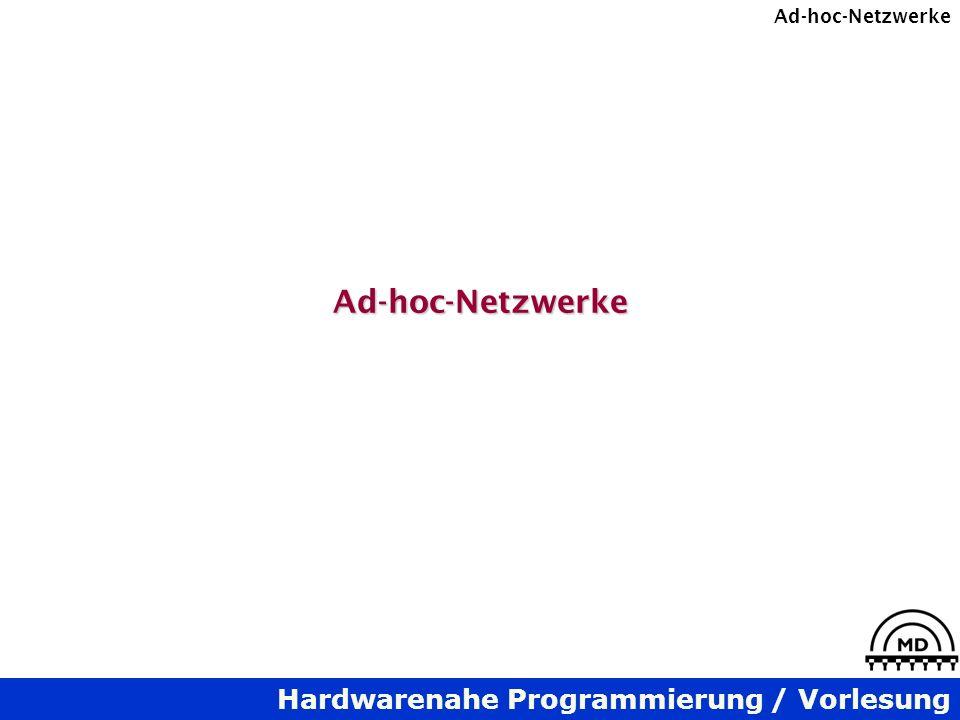 Ad-hoc-Netzwerke