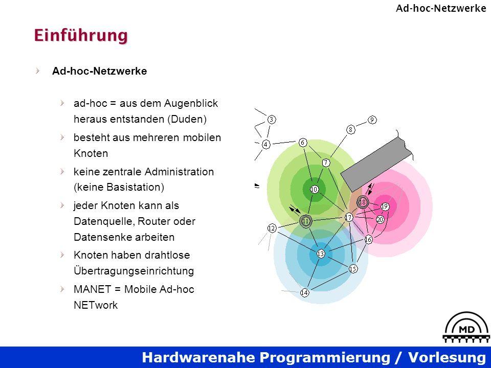 Einführung Ad-hoc-Netzwerke