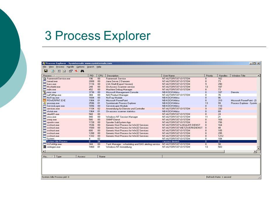 3 Process Explorer