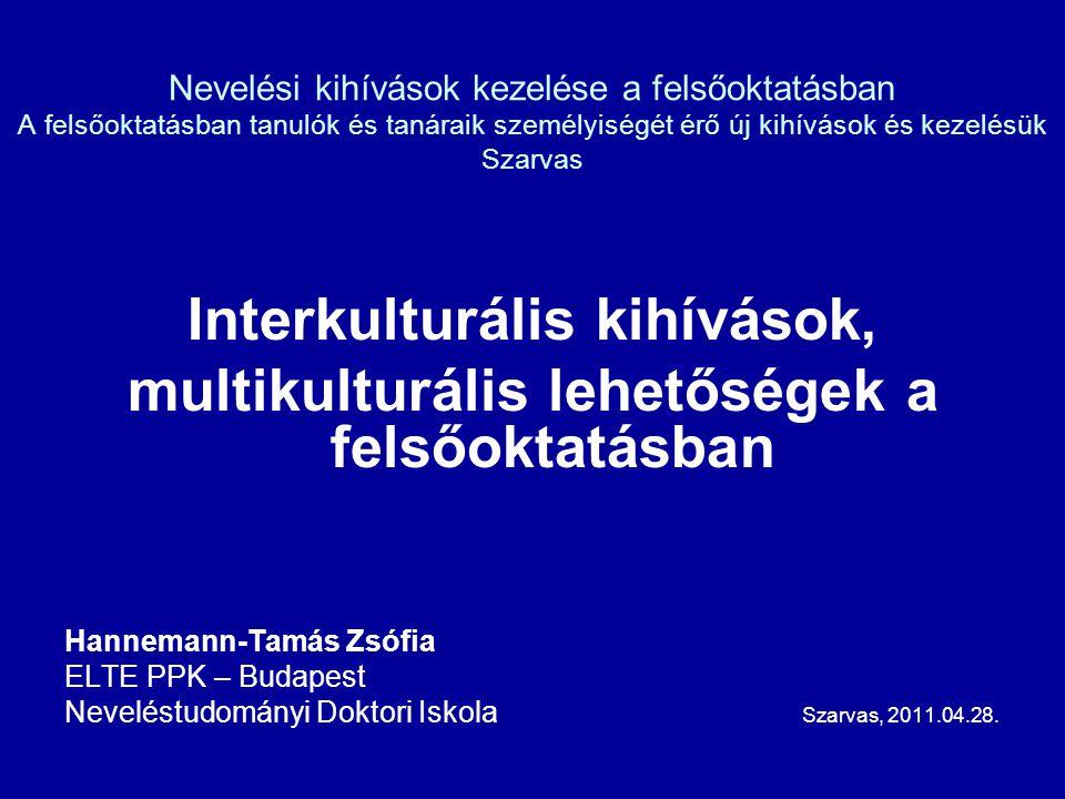 Interkulturális kihívások,