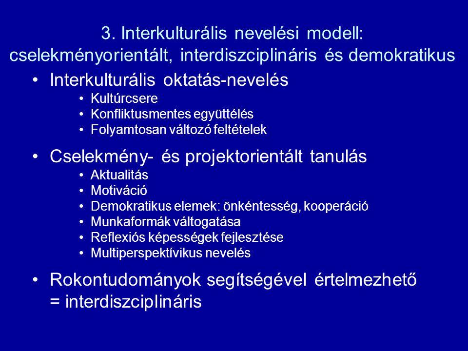 Interkulturális oktatás-nevelés