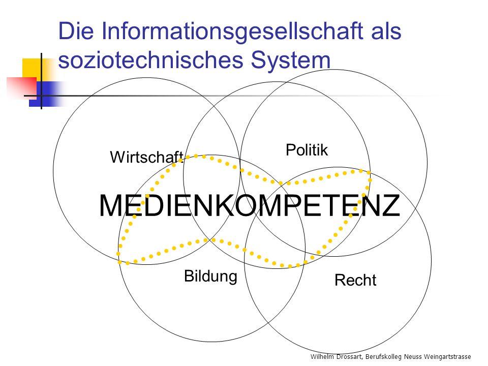 Die Informationsgesellschaft als soziotechnisches System