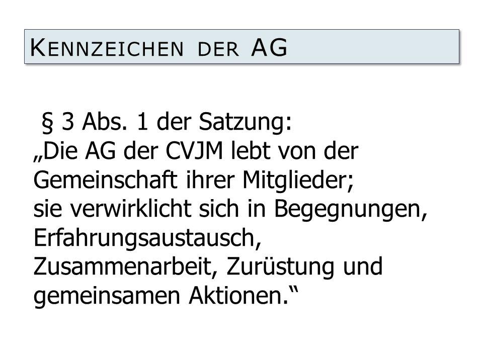 Kennzeichen der AG