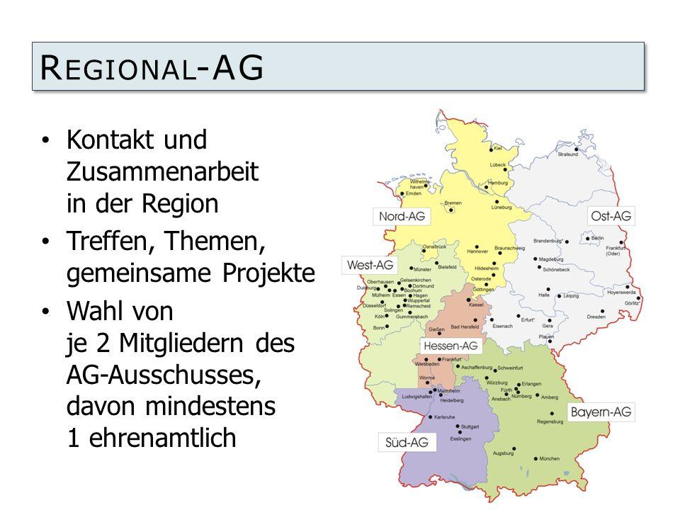 Regional-AG Kontakt und Zusammenarbeit in der Region