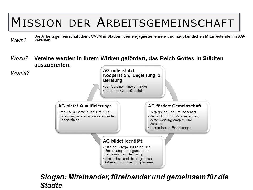 Mission der Arbeitsgemeinschaft