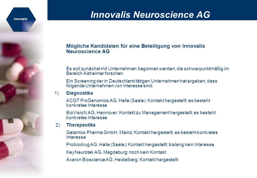 Innovalis Neuroscience AG
