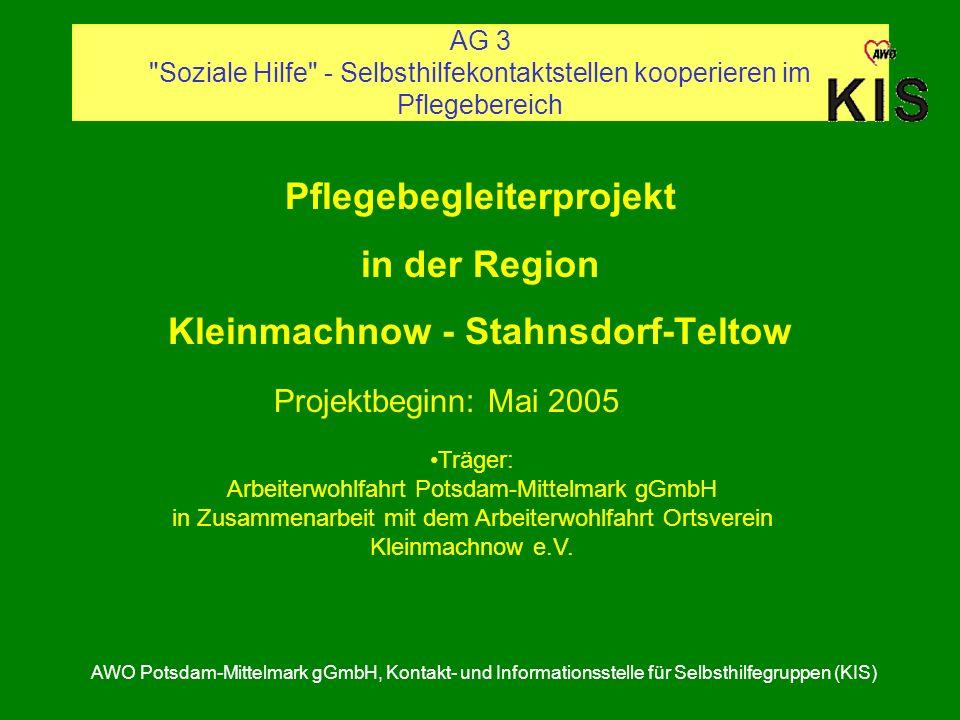 Pflegebegleiterprojekt Kleinmachnow - Stahnsdorf-Teltow