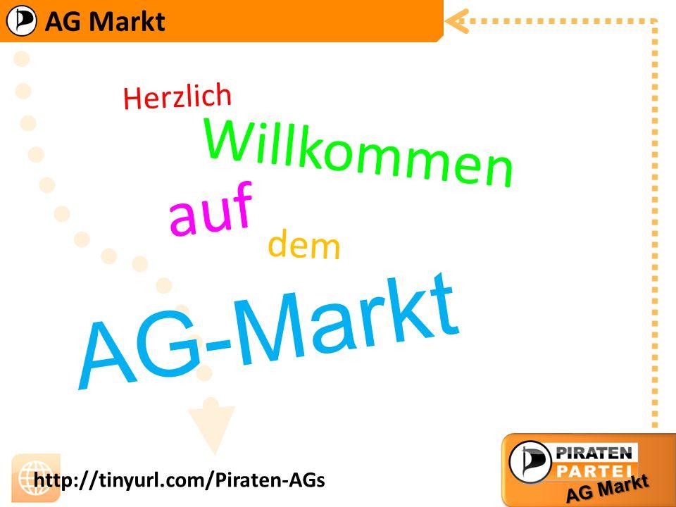 Herzlich Willkommen auf dem AG-Markt