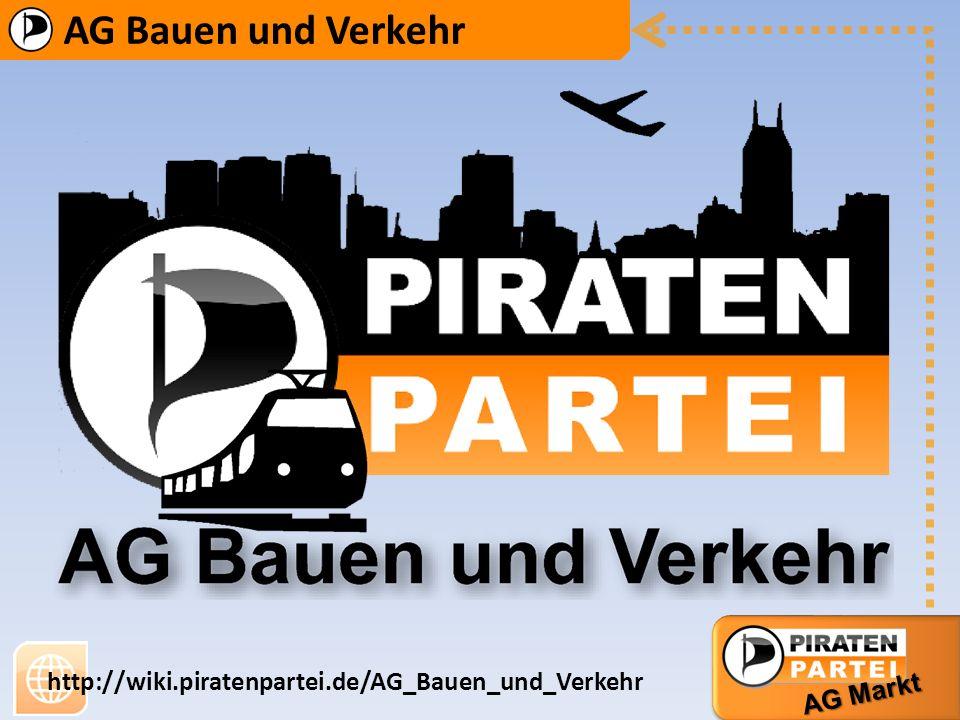 AG Bauen und Verkehr http://wiki.piratenpartei.de/AG_Bauen_und_Verkehr