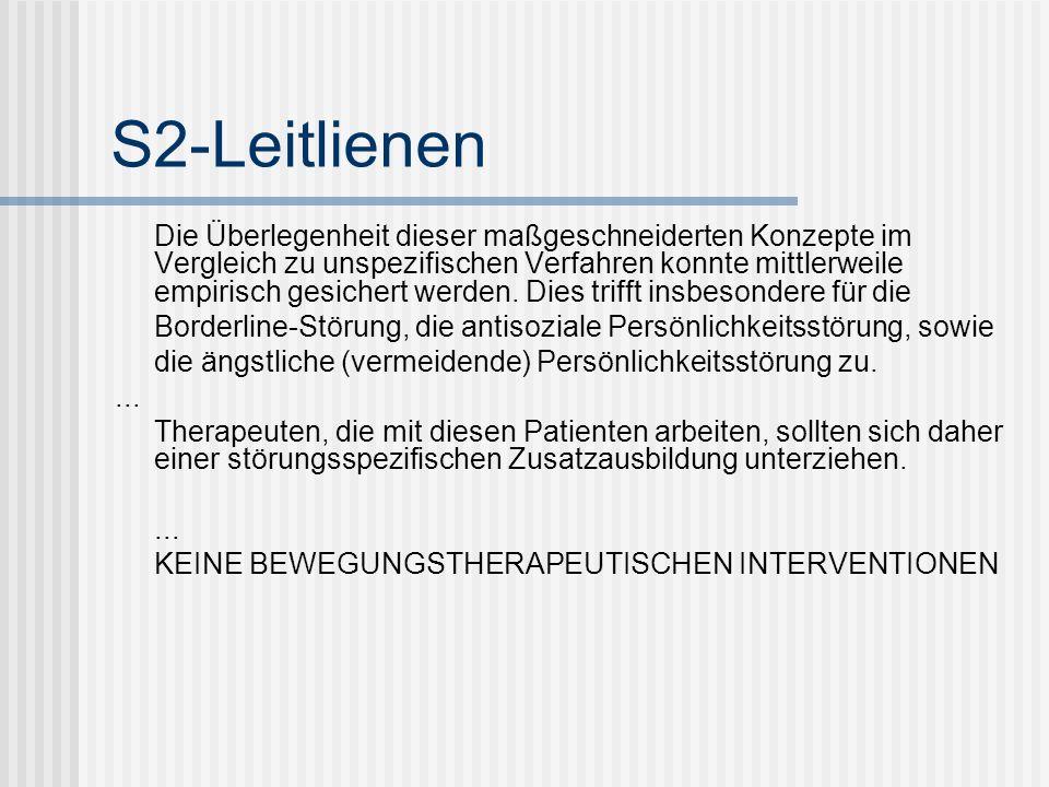 S2-Leitlienen