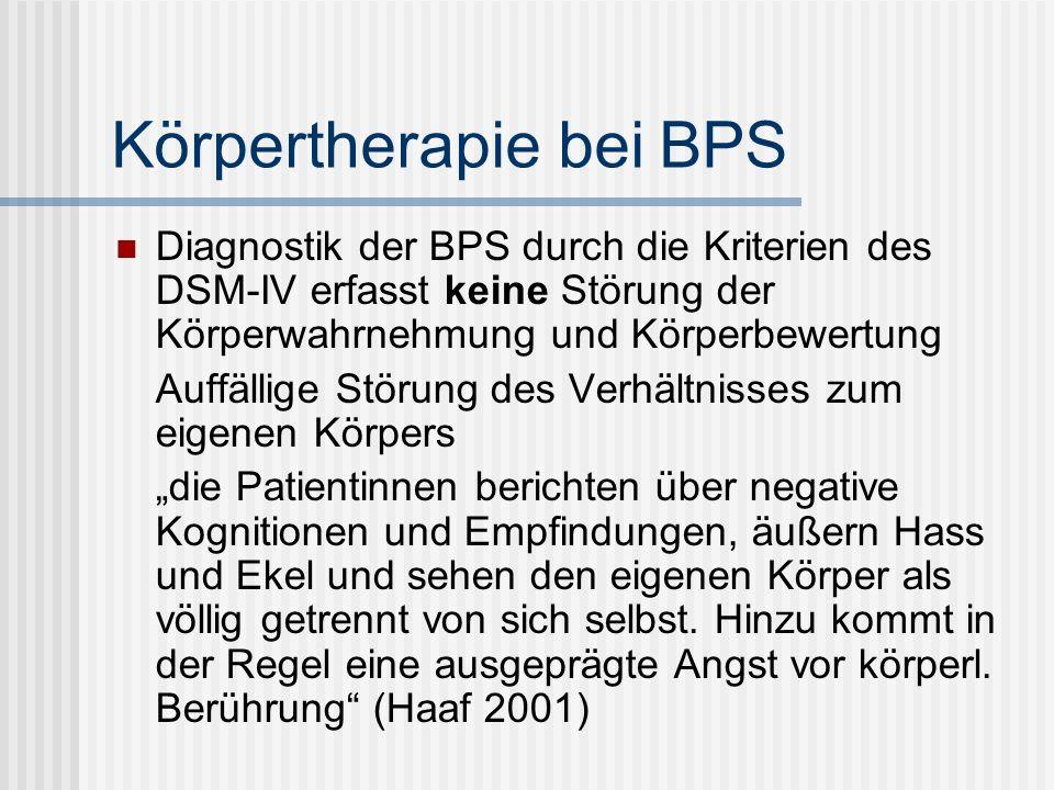 Körpertherapie bei BPS
