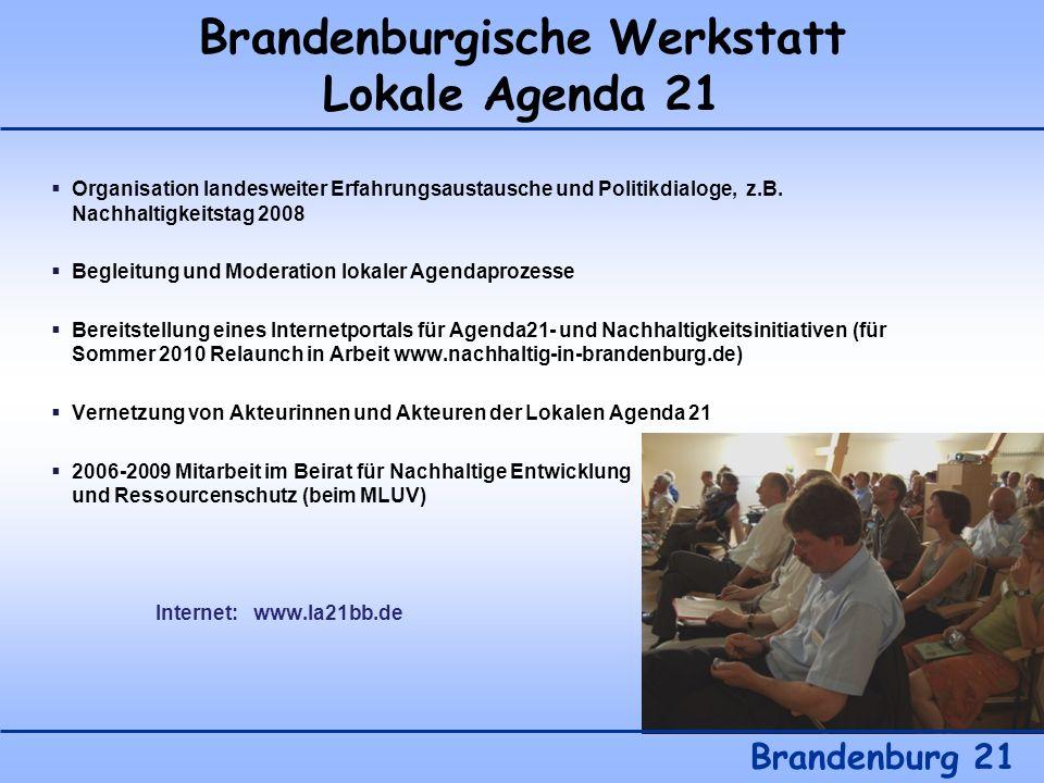 Brandenburgische Werkstatt Lokale Agenda 21