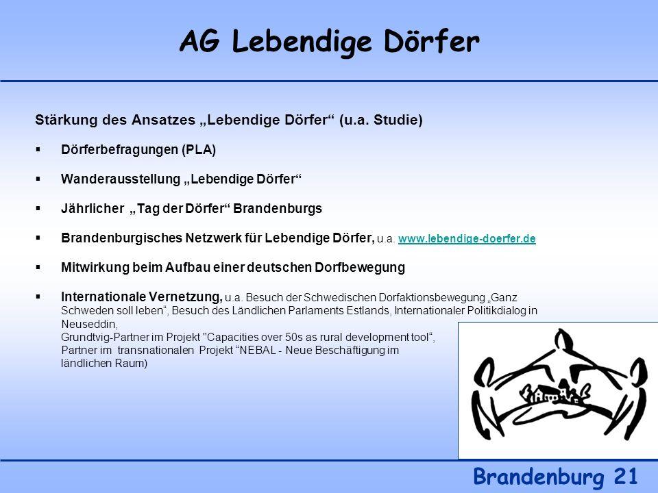 AG Lebendige Dörfer Brandenburg 21