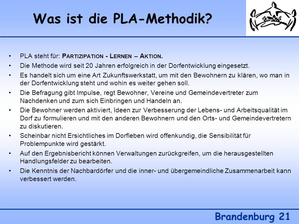 Was ist die PLA-Methodik