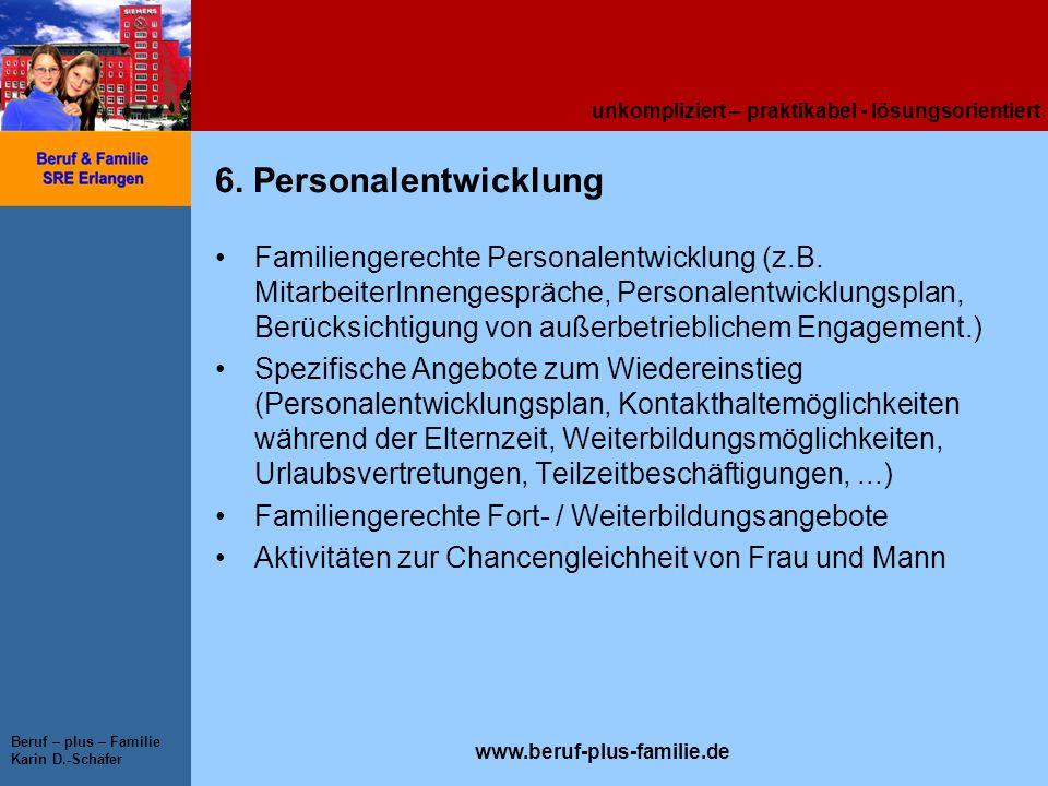 6. Personalentwicklung