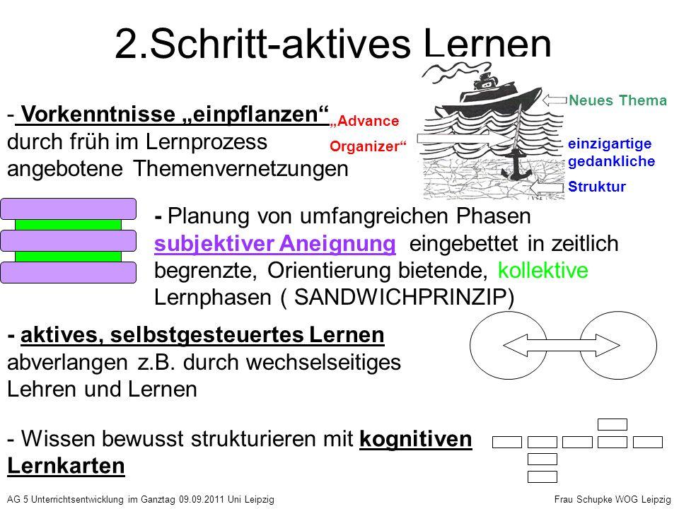 2.Schritt-aktives Lernen