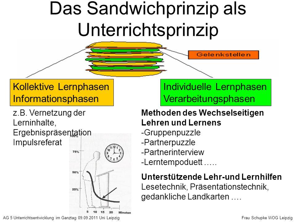 Das Sandwichprinzip als Unterrichtsprinzip