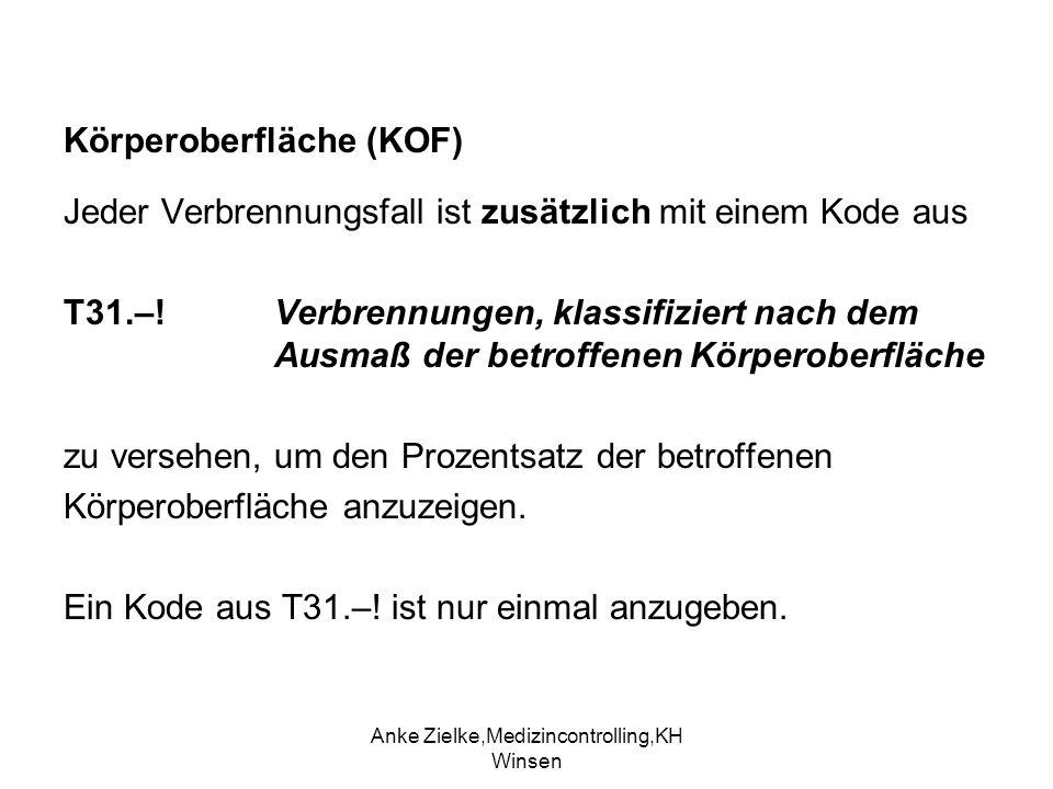 Körperoberfläche (KOF)