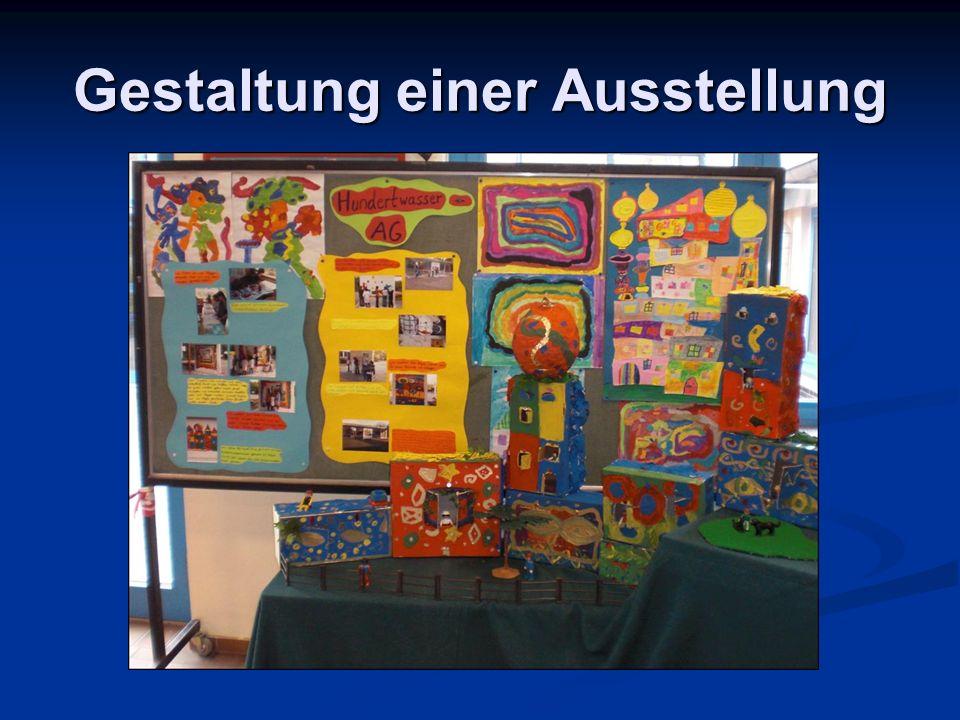 Gestaltung einer Ausstellung