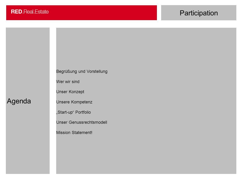 Participation Agenda Begrüßung und Vorstellung Wer wir sind