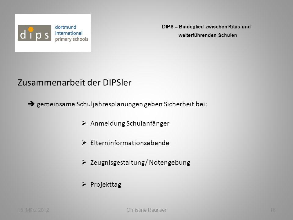 Zusammenarbeit der DIPSler