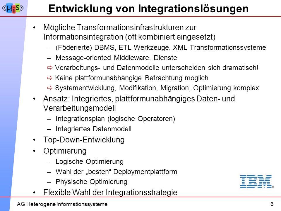 Entwicklung von Integrationslösungen