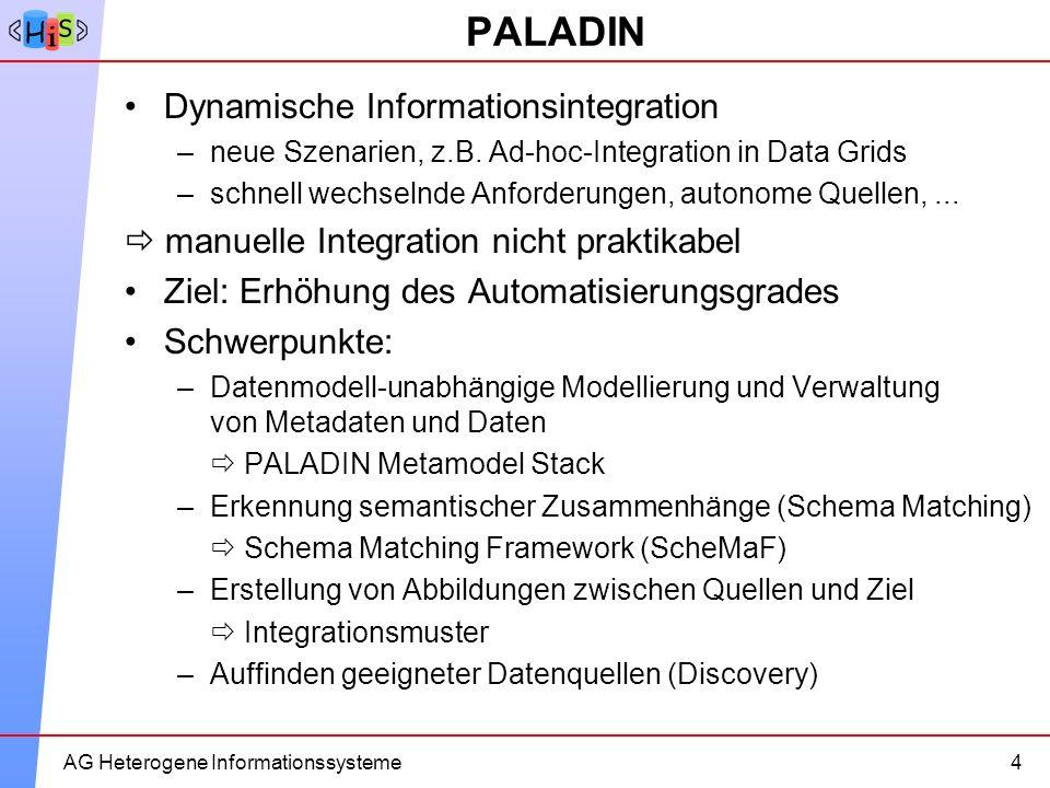 PALADIN Dynamische Informationsintegration