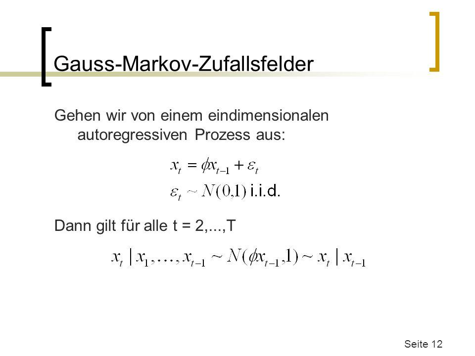 Gauss-Markov-Zufallsfelder